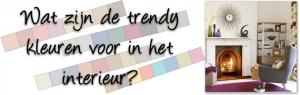 Kleuren paletten voor in je interieur